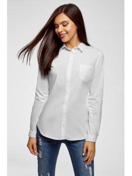 Стильные образы с классической женской белой рубашкой
