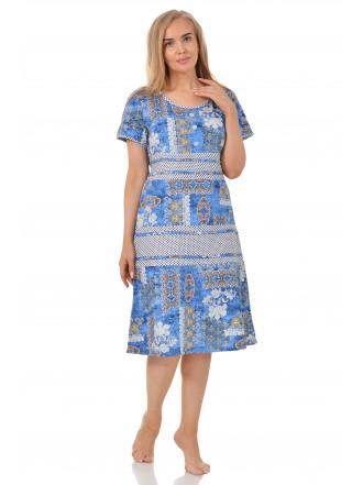 Платье кулирка Лужок  №3015