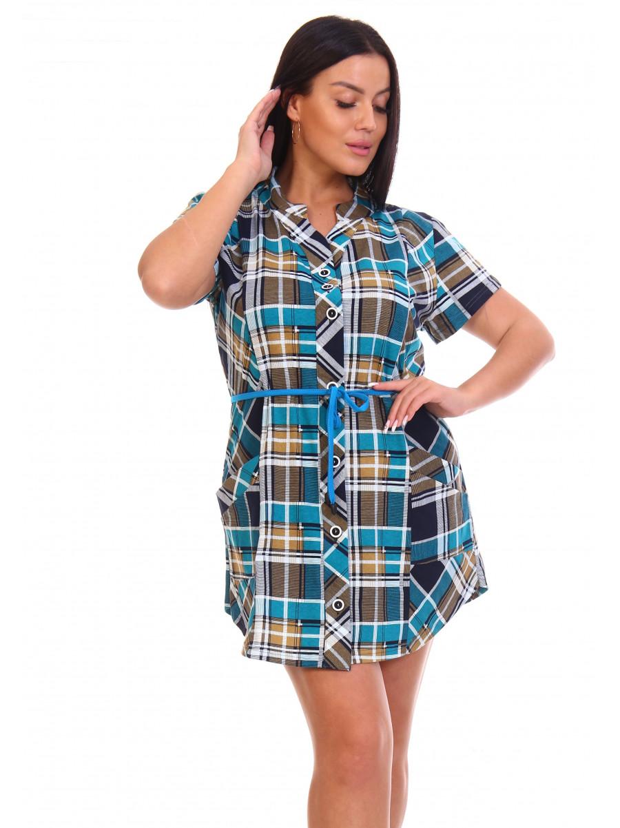 Туника -рубашка  № 6045