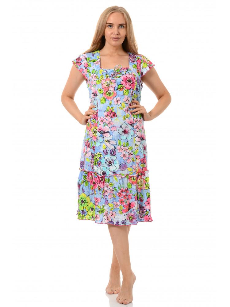 Платье кулирка Мимоза № 3020