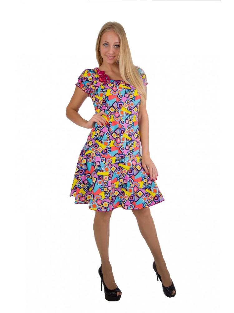 Платье кулирка №3005