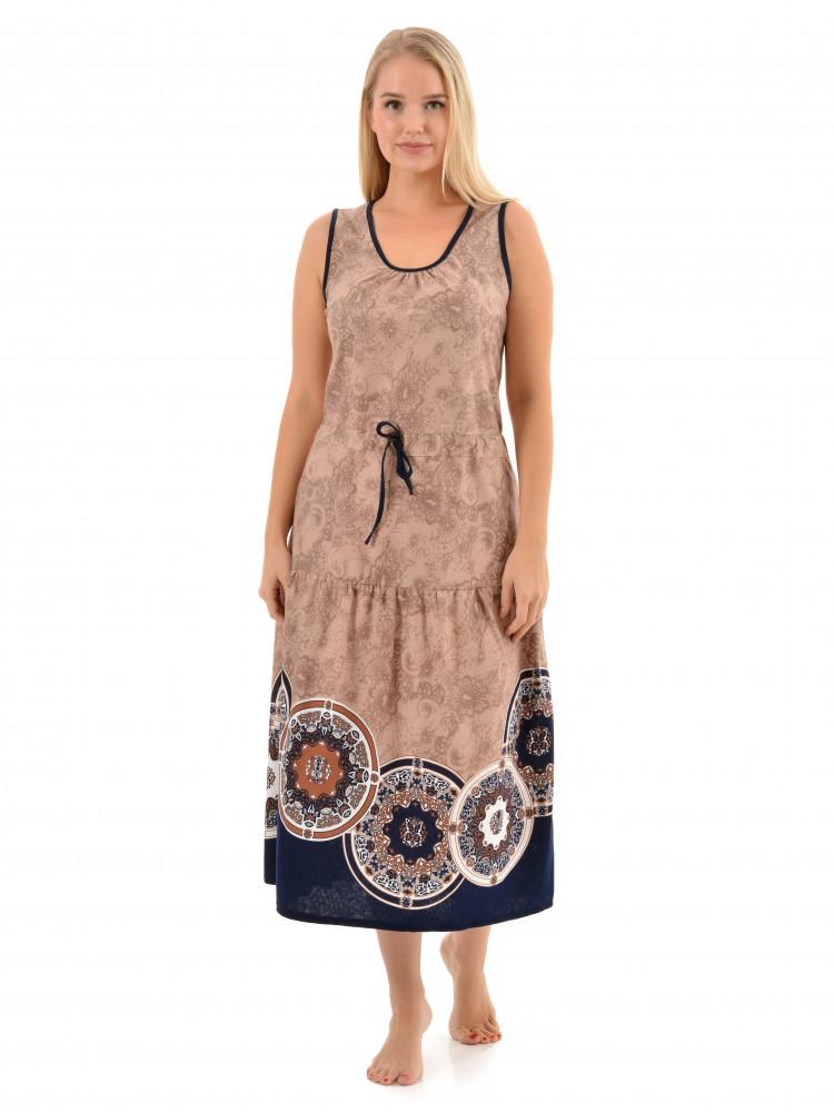 Платье кулирка Алла № 4046