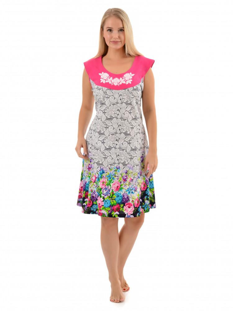 Платье кулирка Каролина № 3013-3