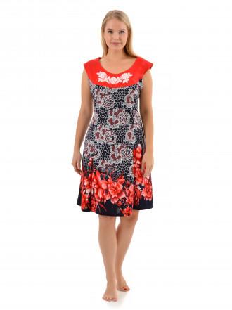 Платье кулирка Каролина № 3013-4