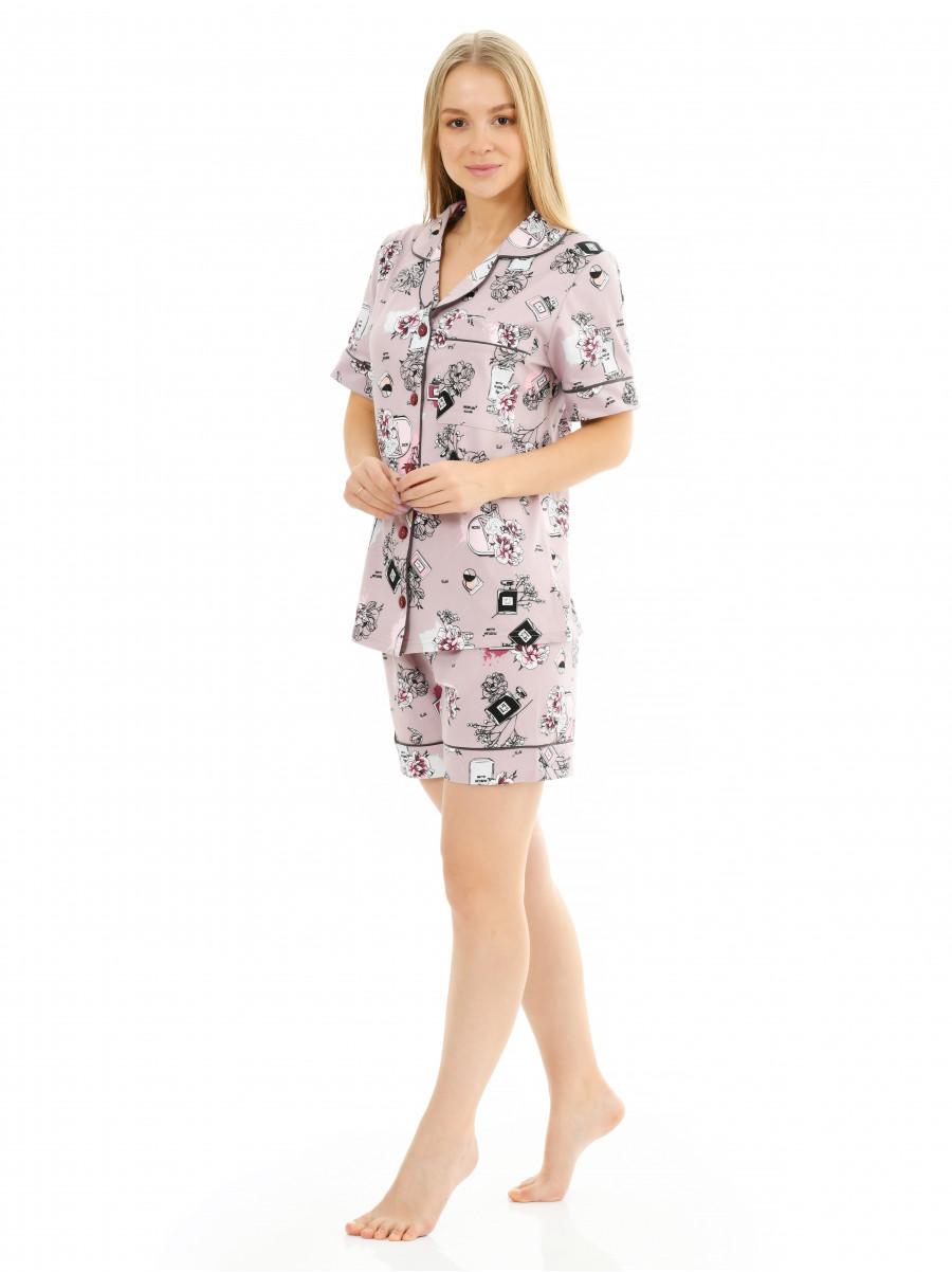 Пижама кулирка  Parfum № 1075-8