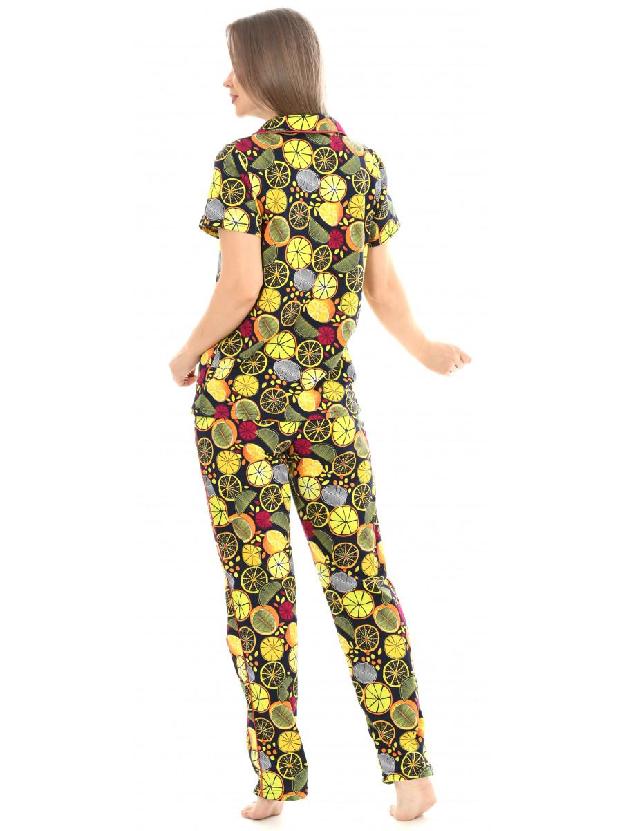 Пижама кулирка брюки № 1055-12