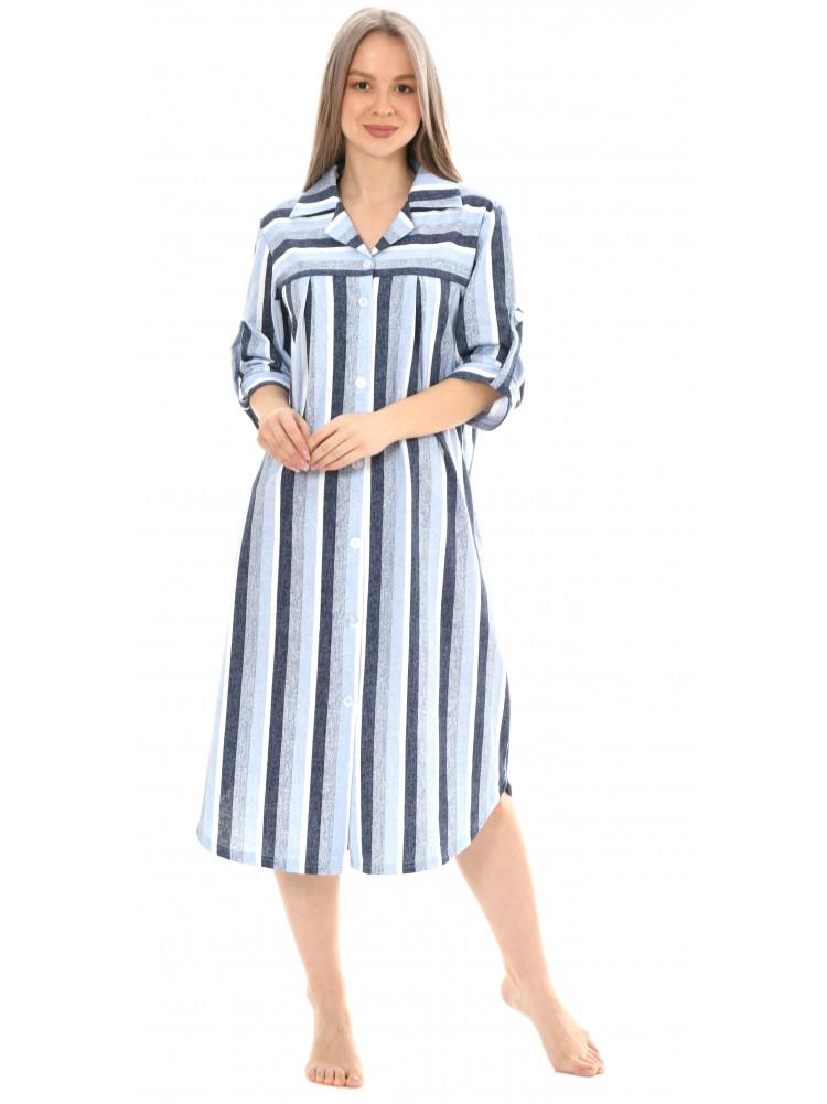 Халат-рубашка № 8441-6
