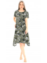 Платье кулирка Лён -х № 3019-3