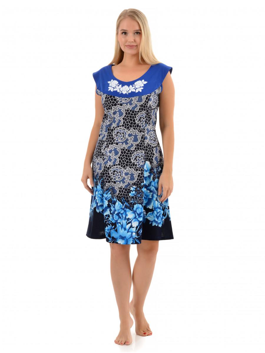 Платье кулирка Каролина № 3013-5