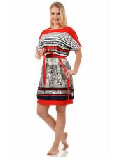Платье кулирка Африка № 3012-2