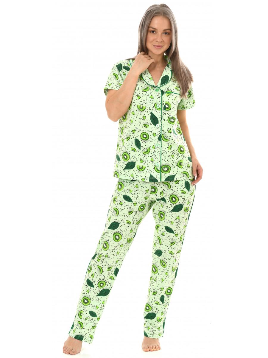 Пижама кулирка брюки № 1055-16