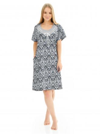 Платье кулирка  № 4060