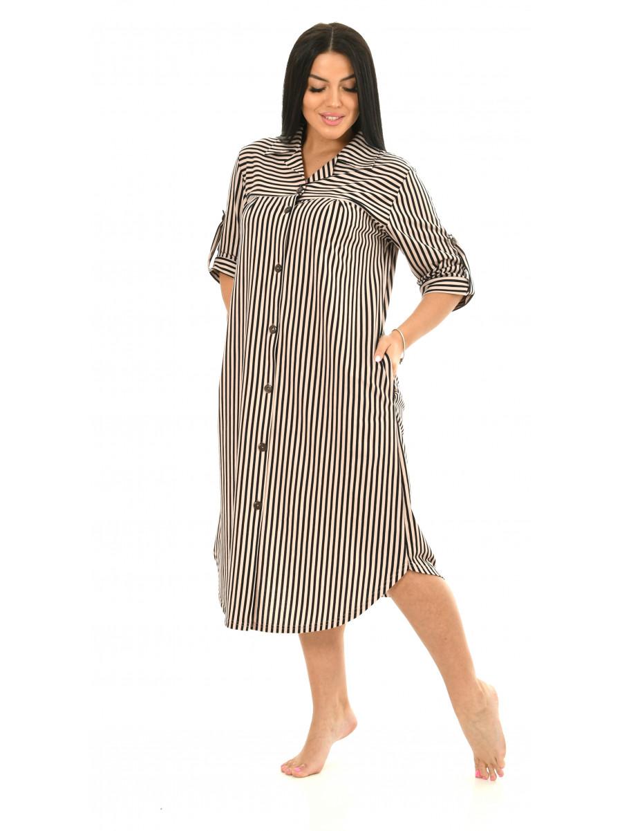 Халат-рубашка № 8441-10